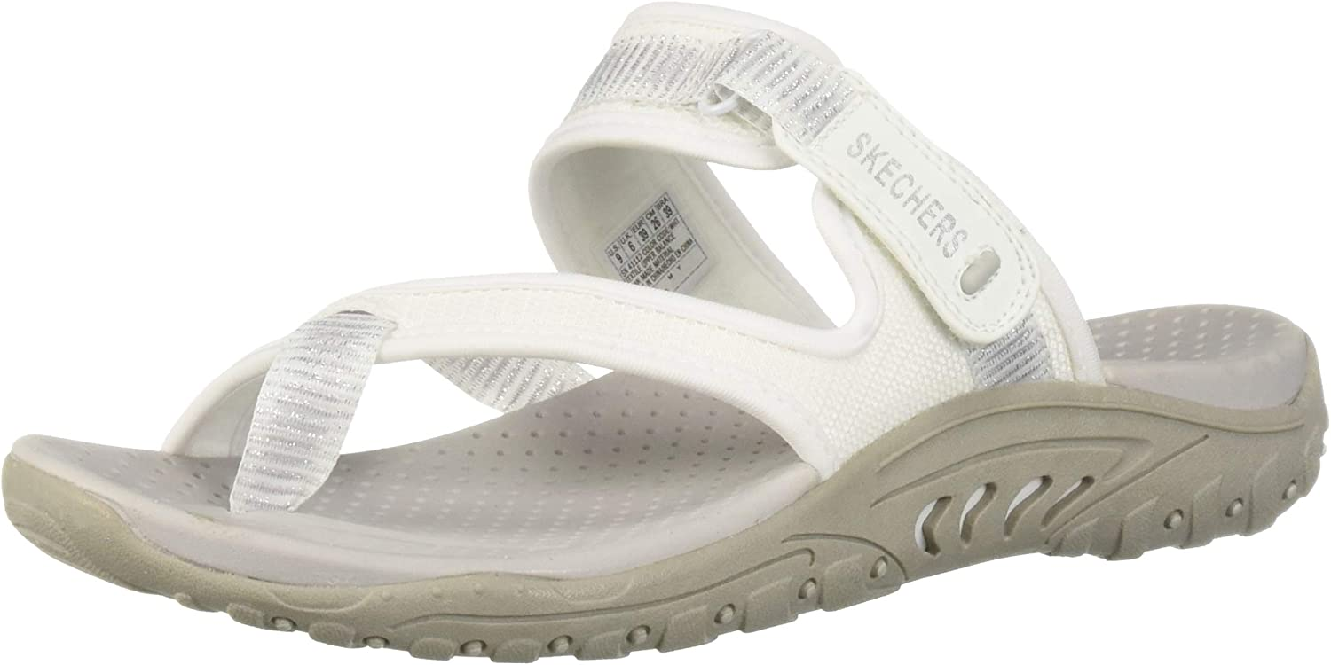 Skechers Womens Reggae - Seize The Day - Toe Thong Sandal Flip-Flop