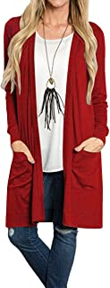 Best ladies long cotton cardigans Reviews