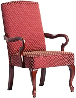 Comfort Pointe Derby High Back Accent Chair, Red ,