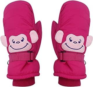 Kids Boys Girls Winter Warm Waterproof Thinsulate Ski Snow Mitten Gloves