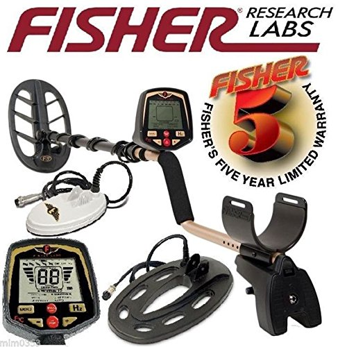 Fisher F70 Multi-Purpose Metal Detector Combo 6.5 inch + 10 inch + 11 inch Search Coils + extra lower tube