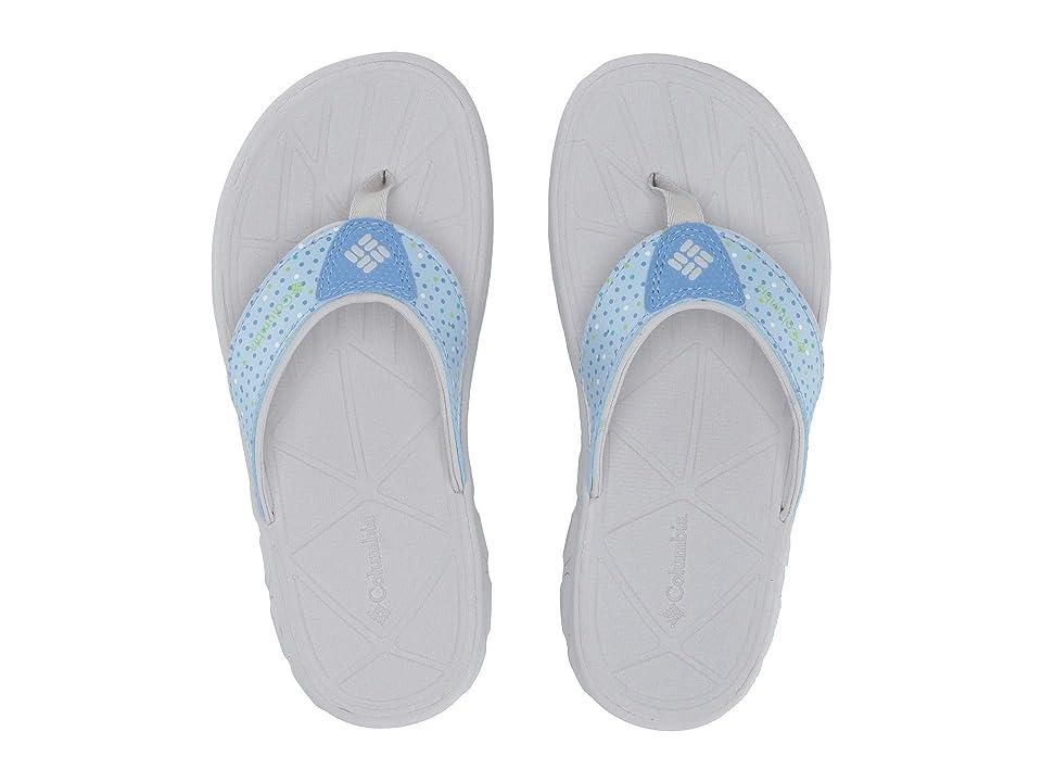 Columbia Kids Techsuntm Flip (Little Kid/Big Kid) (Cool Wave/Jade Lime) Girls Shoes
