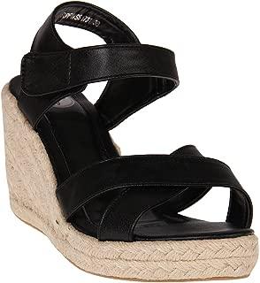 Red Pout Women Black Sandals