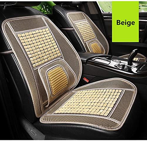 Xljh Autositz Vier Jahreszeiten mit Einem einzigen Stück cool pad Bambus Sitzkissen Sommer atmungsaktiv Bambus Bambusmatte Belüftung,C