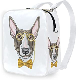 DEZIRO - Mochila de hombro con diseño de perro