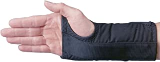 Rolyan D-Ring Left Wrist Brace, Size X-Small Fits Wrists up to 5.75
