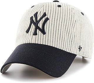 47 Brand Clean Up New York Yankees Pinstripe Home Run Two Tone Adjustable Cap