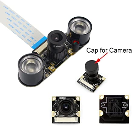 Longruner Camera Module for Raspberry Pi 3 Model B B+ A+ 2 1 5MP 1080p OV5647 Sensor HD Video Webcam Night Vision Camera - Trova i prezzi più bassi