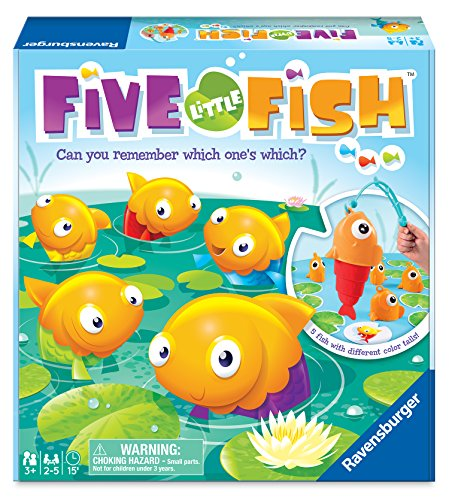Ravensburger Five Little Fish Toddler Toy and Game for Boys...
