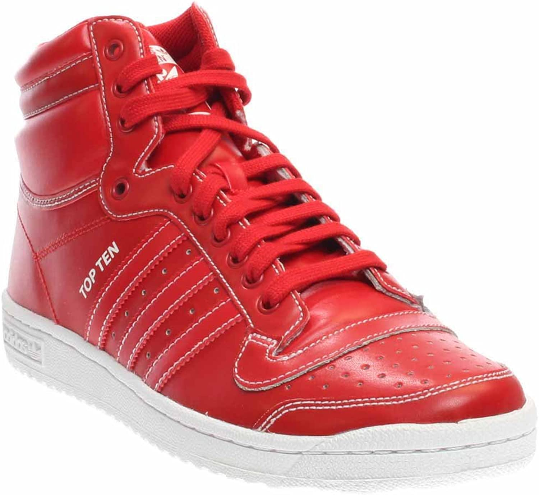 Adidas Men's Top Ten Hi Scarlet F37589