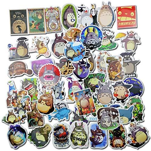 BLOUR film Mijn nabar Totoro lieve schrijfwaren sticker voor auto laptop notebook bagage sticker koelkast skateboard 50 stuks/losse