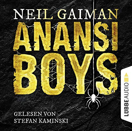 Anansi Boys cover art