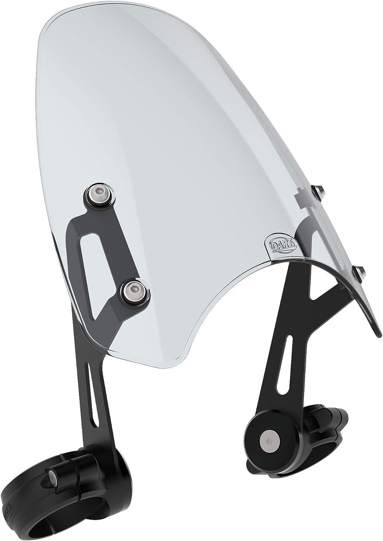 Large-scale sale Dart Classic Regular dealer Flyscreen Light compat Tint Motorcycle Windshield