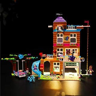 Led Lighting Kit for (Heart Lake City Friendship Club) Building Blocks Model - Led Light Kit Compatible with Lego 41340(NO...