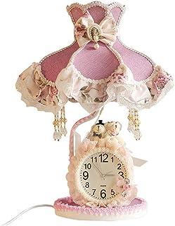 WYBFZTT-188 Kreative Moderne Prinzessin Tischlampe, lila Farbe, Mädchen Zimmer Tischlampe, Schlafzimmerlampe, europäischen...