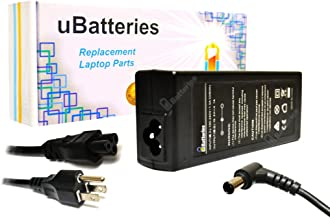 UBatteries Compatible 19.5V 90W Laptop AC Adapter Charger Replacement For Sony VAIO Part# VGP-AC19V39 VGP-AC19V19 PCGA-AC19V3