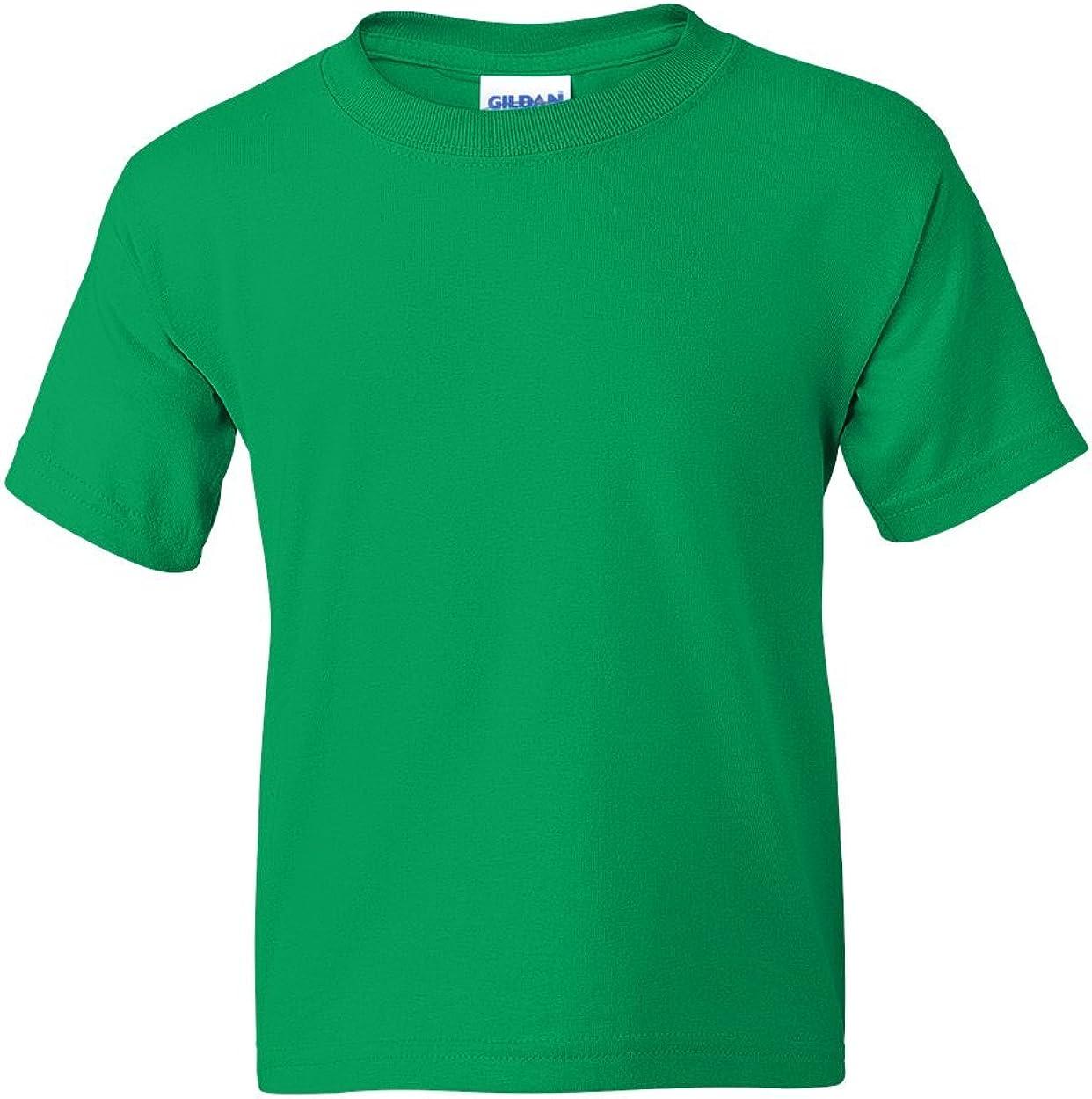 5.5 oz, 50/50 T-Shirt (G800B) Irish Green, S (Pack of 12)