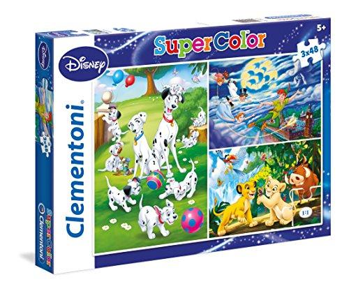 Disney Classic   Set de Puzzles (3x48 Piezas)