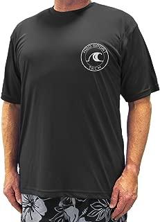 H2O Sport Tech Big & Tall Men's Short Sleeve Swim Shirt - Loose Fit