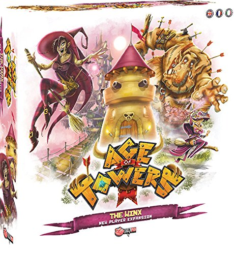 Devil Pig Games Asmodee - Age of Towers: The Winx Expansion - English