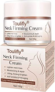 Neck Firming Cream, Neck Anti-Wrinkle Cream, Anti Aging Moisturizer for Neck & Décolleté, Neck Firming Cream for Double Chin and Sagging Skin, Neck, Chest & Décolleté Skin Care for Men & Women