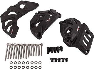Set Protezioni Motore Moto Protezione Anticaduta Cassa Motore in Nylon per R1//M//S 2015-2020 per MT10 2015-2020 Nero