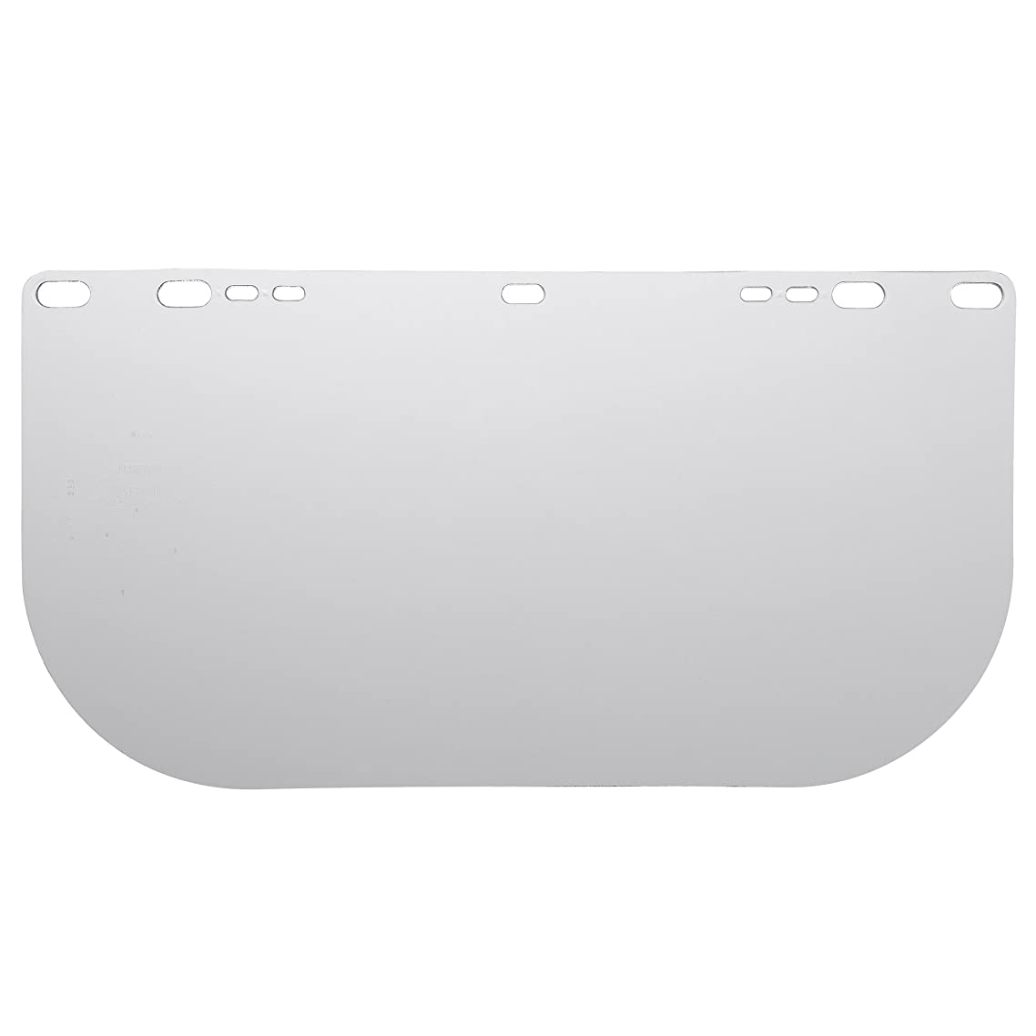"""Jackson Safety F20 High Impact Face Shield (30706), Polycarbonate, 8"""" x 15.5"""" x 0.04"""", Clear, Face Protection, Unbound, 36 Shields / Case melxdpjo75882287"""