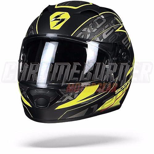 /Scorpion ADX 1/N/úcleo negro mate amarillo neon SCORPION/ /Cascos Moto/