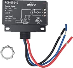 Aube RC840T-240 On/Off Switching Electric Heating Relay with Built-in 24 V Transformer