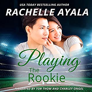 Playing the Rookie audiobook cover art