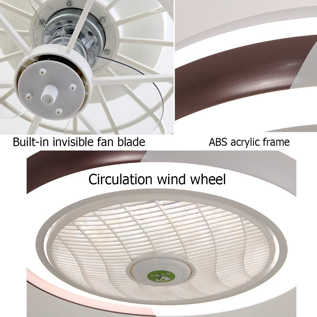 Ventilador de techo lámpara de luz creativa lámpara de techo ...