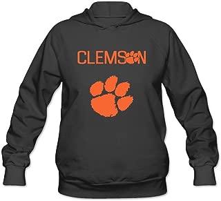 Women's NCAA Clemson Tigers Tiger Paw Logo Hoodies