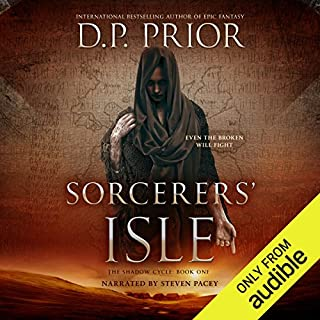 Sorcerers' Isle audiobook cover art