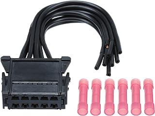 YONGYAO Calentador Calefactor Ventilador Conector del Arnés De Cableado para Renault Megane Clio Twingo