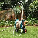 Changor Komfortabel Schlauch Wagen, 96x48x48cm Schlauch Wagen Qualität PP Mauer Montieren Garten Umweltfreundlich Freundlich PP und Aluminium Magnesium Legierung