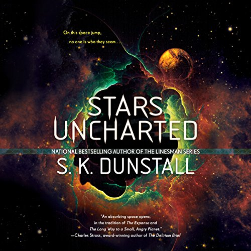 Stars Uncharted audiobook cover art