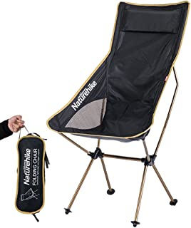 Naturehike 正規品 軽量 アウトドアチェア ラウンジ チェア折り たたみ椅子 ロングバックタイプ レジャーチェア ポータブル お釣り 登山 キャンプ用 収納バッグ付き