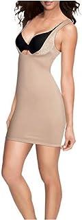 Flexees Womens FL1269 Firm Control Shapewear WYOB Slip Shapewear Full Slip