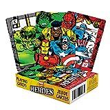 AQUARIUS Deck de Cartas, diseño de superhéroes de Marvel Comics