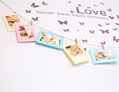 Homieco trade; 10pcs Combination Wall Photo Frame DIY Hanging DIY Wall Picture Album Home Decoration
