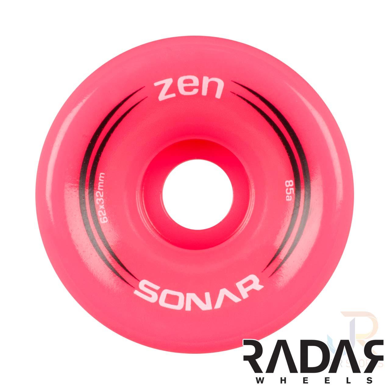 Sonar Wheels Quad Roller Skate