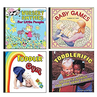 Becker's School Supplies Baby and Toddler CD Set, (Set of 4) from BECKERS SCHOOL SUPPLIES