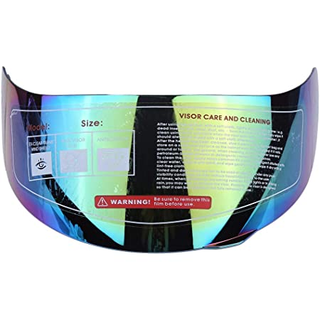 Lente de casco de motocicleta reemplazo de parabrisas de lente de visera de casco para 316 902 AGV K5 K3SV (color)