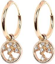 Small Rings Gold Geometric Earrings European And American Big Bohemian Alloy Earrings Earrings Ladies Birthday Gift