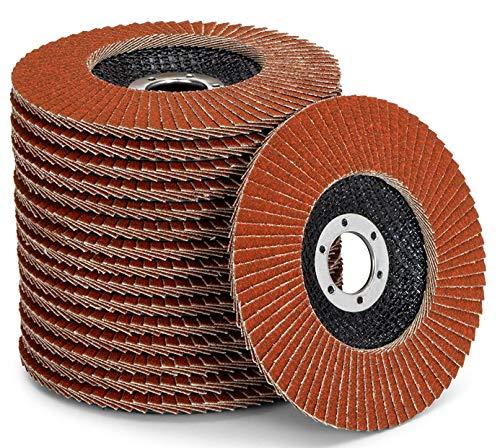 Juego de discos de abanico de alta calidad, color marrón, 10 unidades,...
