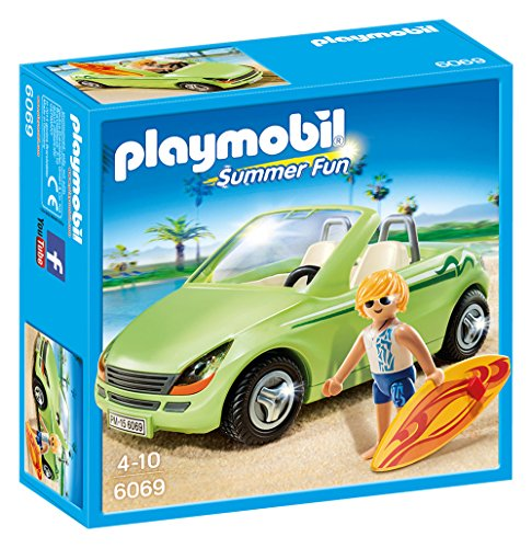 PLAYMOBIL - Surfista con descapotable (60690)