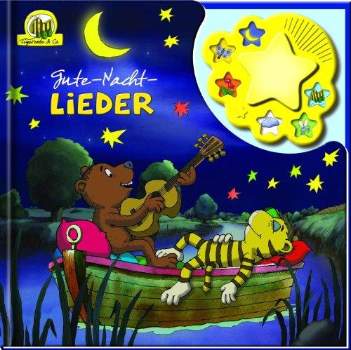 Janosch Tigerente & Co. - Gute-Nacht-Lieder, Liederbuch mit Nachtlicht und Klangleiste