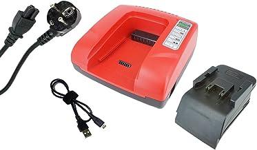 Power Smart® 20–36V Batería Ni-Cd/NI-MH Cargador para Hilti SFL 24, TE de 2a, UH 240A, WSC de 55, WSC 6.5y WSR 650de a, b 24/2.0y B 24/3.0