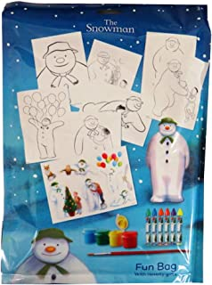 The Snowman, Christmas Creative Fun Bag with Novelty Gifts