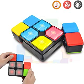 Toys for 6-12 Year Old Boys Girls JoyJam Rubiks Music Cube Puzzle Toy Electronic Magic Cube Speed Cube Novelty Game for Teens Decompression Toys for Adults Christmas Birthday Gifts JJ-MF